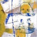 Création : Vierge à lenfant (180 x60 cm)