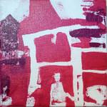 Série Framboise : l'attente (20x20cm)