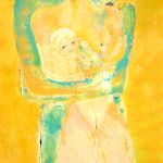 Couple à l'enfant (180x80cm)