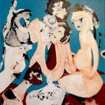 Amours (80x80cm)