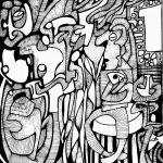 Bablyphe5 (20x20cm) L'Atelier, rencontres